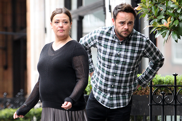 Lisa Armstrong tells ex Ant McPartlin 'I'm calling the shots now'