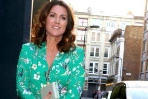 GMB's Susanna Reid almost suffers wardrobe malfunction in daring dress