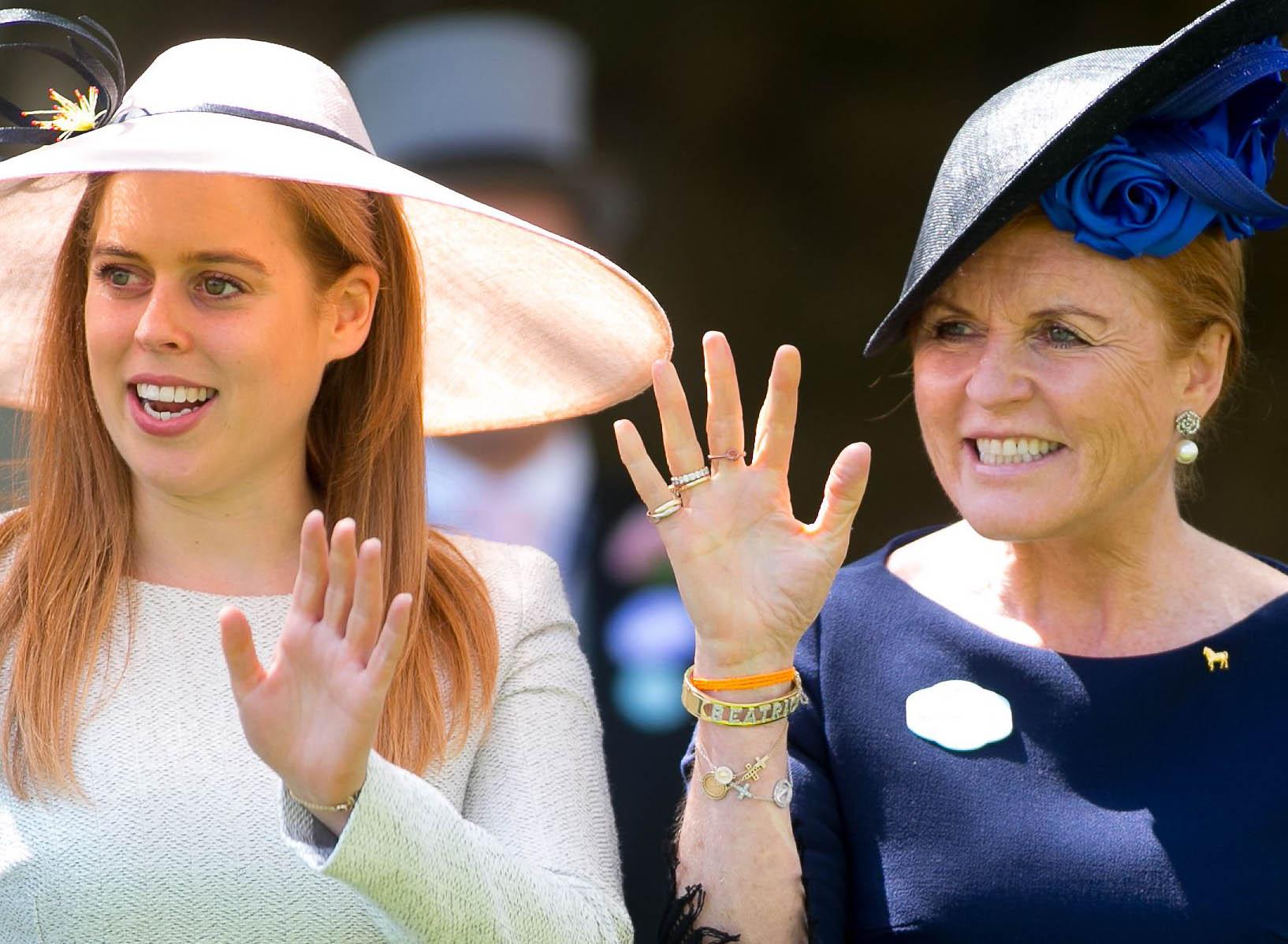 Princess Beatrice enjoys girls trip with mum Sarah – as ex-boyfriend Dave marries in Italy