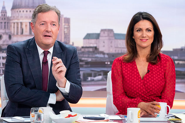 Piers Morgan struggled to 'hide his revulsion' speaking to serial killer