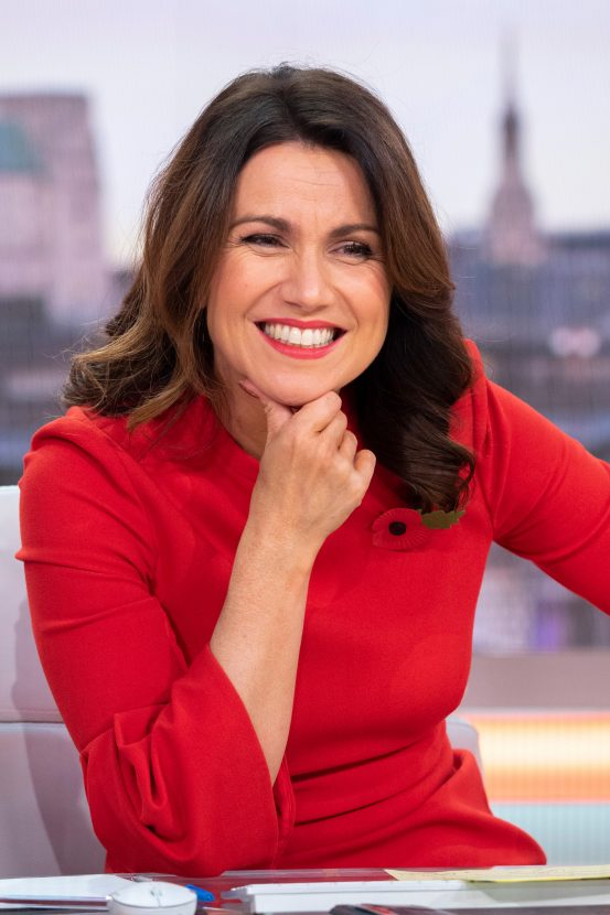 Find out Susanna Reid, Davina McCall and Coleen Nolan's VERY surprising celebrity crushes