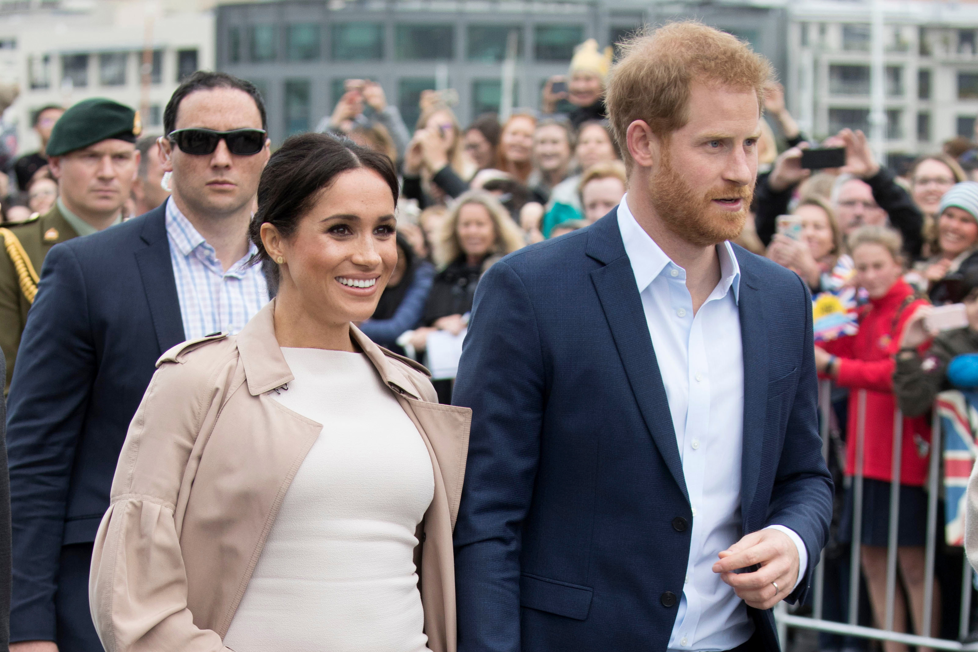 Prince Harry Reportedly Cracked a Joke About Meghan Markle