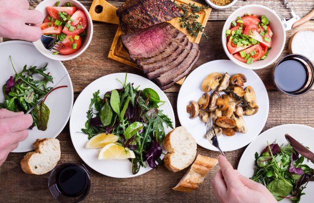 is salad fattening?