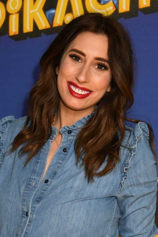 Stacey Solomon has taken baby Rex outside for the very first time