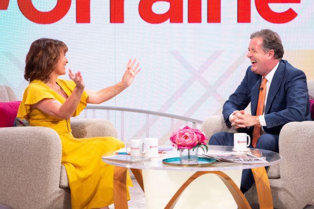 Piers Morgan, Lorraine Kelly