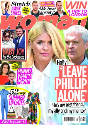Woman Magazine cover