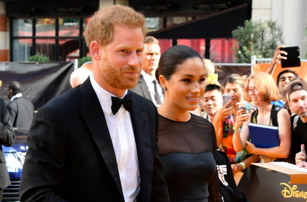 Prince Harry slammed by etiquette expert after red carpet appearance with wife Meghan Markle