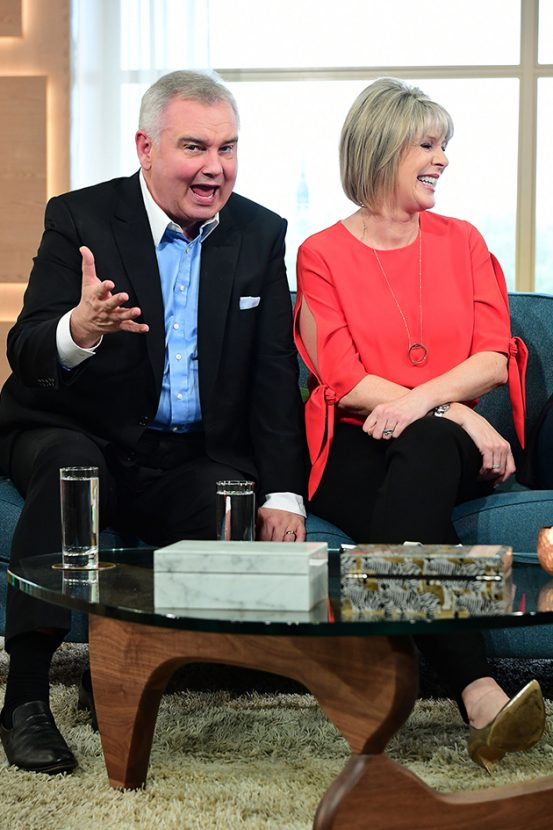 Eamonn Holmes will be 'having words' with Ruth Langsford over on-screen row