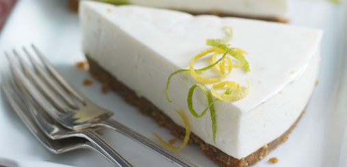 Lemon lime and ginger cheesecake - Food