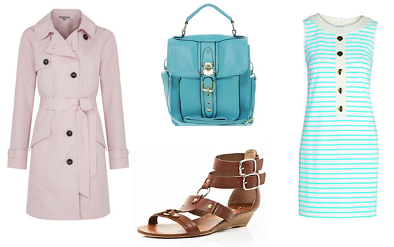 A simple style to carry you right through Spring to Summer (finger crossed we have one!)