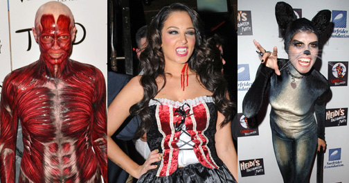Get some inspiration from our favourite celebs for Halloween