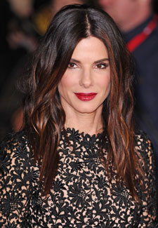Sandra Bullock S Debuts Ombre Hairstyle Woman S Own