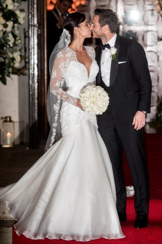 Celebrity Wedding Dresses All Our Fabulous Favourites1