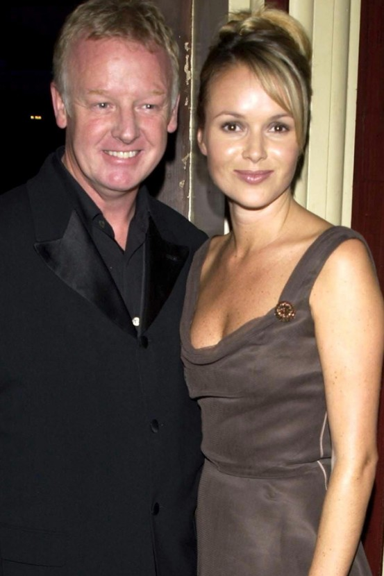 Amanda Holden Married Les Dennis Yes And Yes This Was