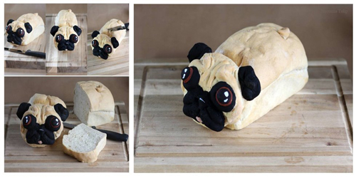 Pug Loaf Things To Bake