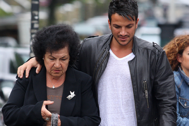 Peter andre life in pictures his rise to fame peter andre and family out and about in brighton sussex britain 11 jul m4hsunfo