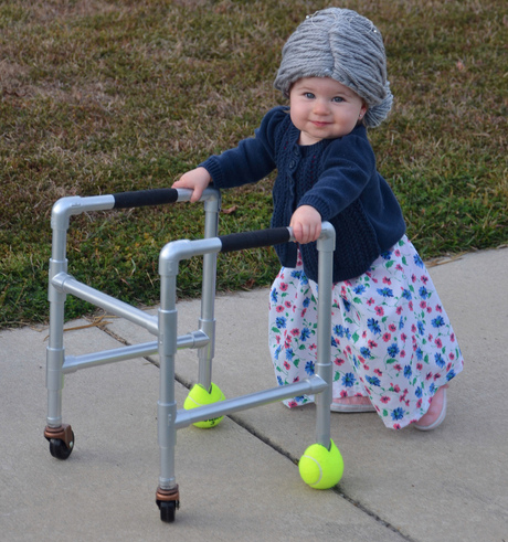 baby_grandma kids halloween costumes - Coolest Kids Halloween Costumes