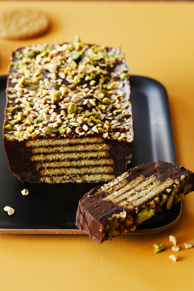 Royal Recipes Chocolate Biscuit Cake