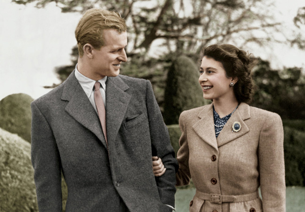 the queen and prince philip a story of love loyalty