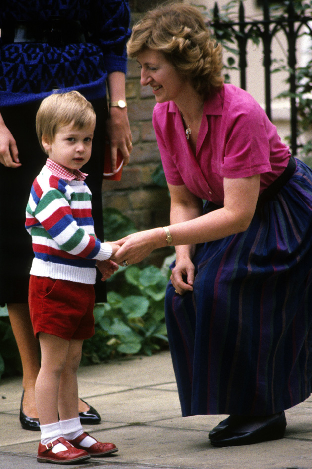 Prince William On His First Ever Day At Nursery School