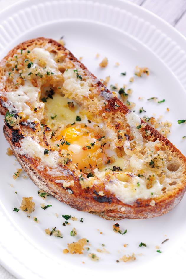 Toasty Eggs Recipe