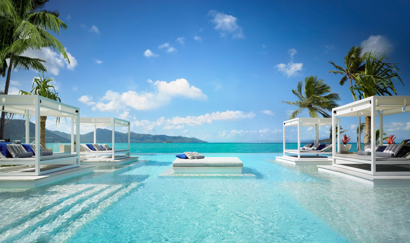 Amazing swimming pool design - One Only Hayman Island