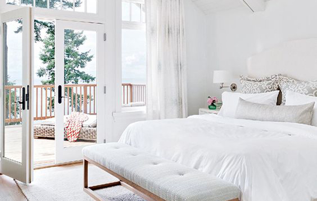 What does your bedroom colour reveal about you
