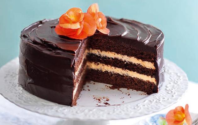 Jaffa chocolate cake