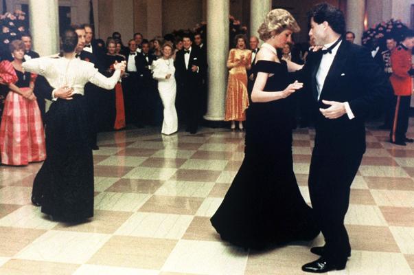 Image result for princess diana and travolta dancing