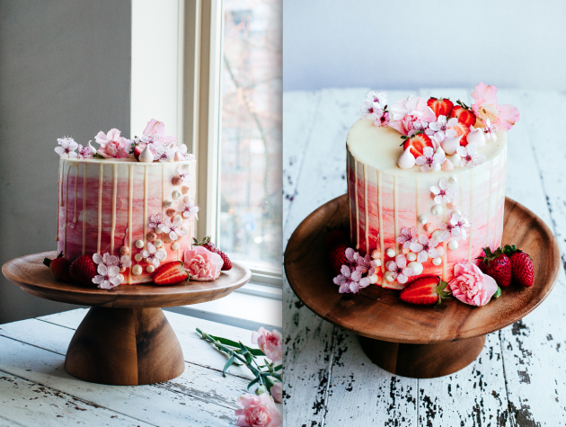 Strawberry Orange Blossom Cake Recipe