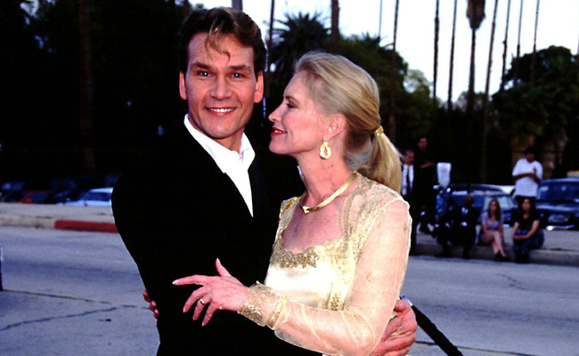 Patrick Swayze widow opens up about her one marriage ...