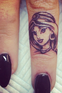 Tattooed Princess Jasmine