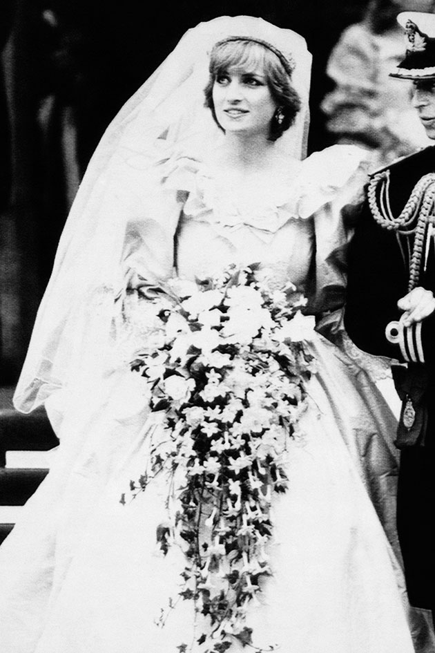 The story behind the photo: Princess Diana\'s wedding dress - Woman\'s own