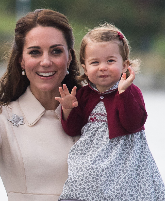 Princess Charlotte and the new royal baby are bonding recommend