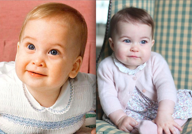 despite all the claims that princess charlotte looks just like her