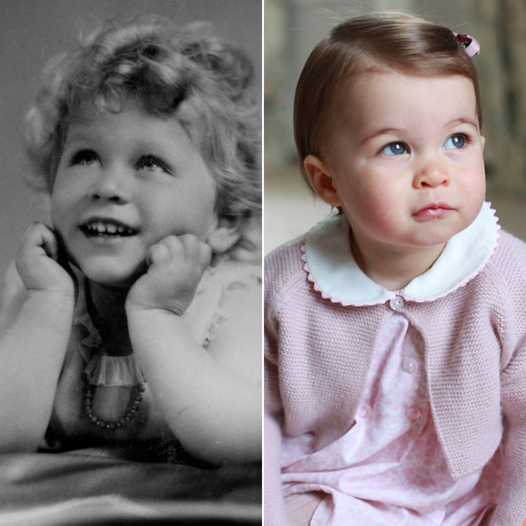 Charlotte Starting To Look Very Much Like Queen Elizabeth