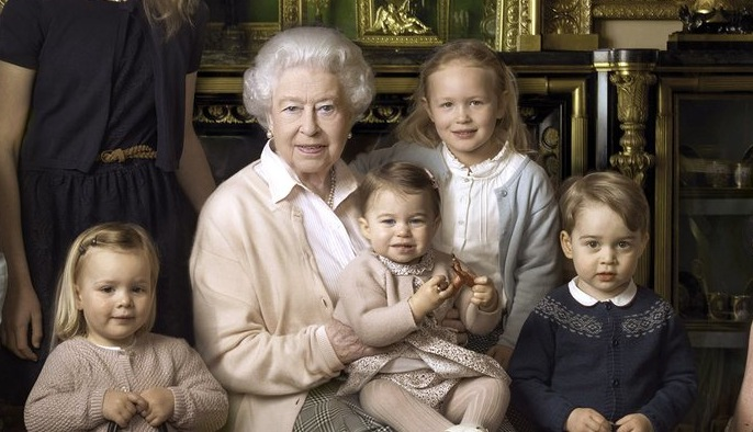 Princess Charlotte And The Queen
