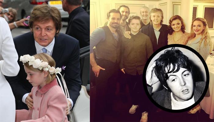 Paul McCartney And His Daughter Beatrice