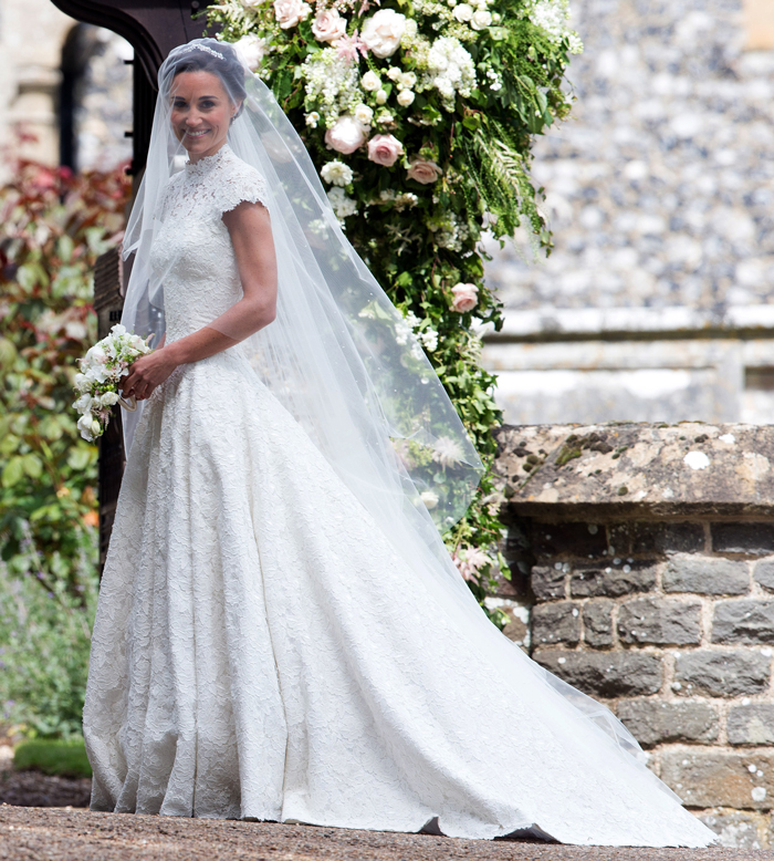 Everything you need to know about pippa middleton 39 s wedding for Wedding dress like pippa middleton