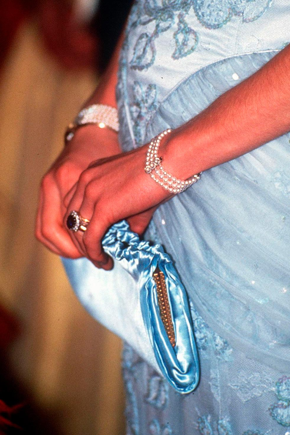 The story behind the picture: Why Diana always wore a clutch