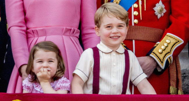 Pictures Of Princess Charlotte Trooping The Colour 2017