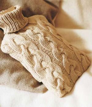 Knitting Pattern Hot Water Bottle