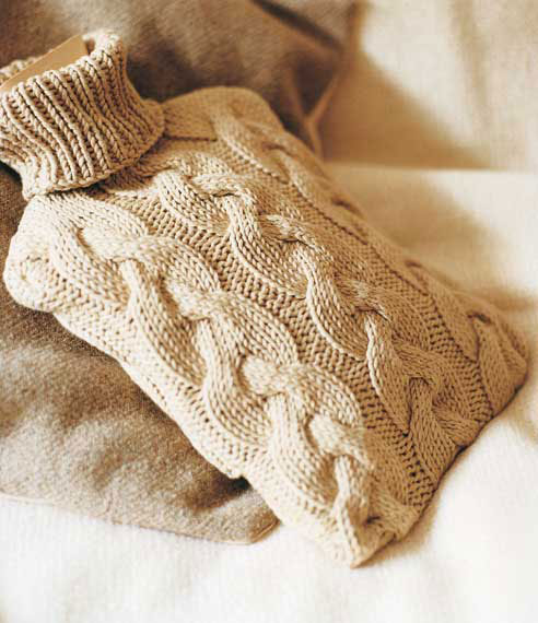 Knitting Pattern Hot Water Bottle Woman S Weekly
