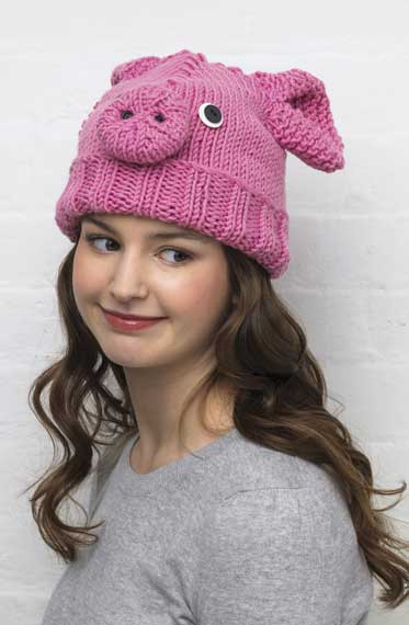 Be an animal with a cute knitted animal hat a67182b973c