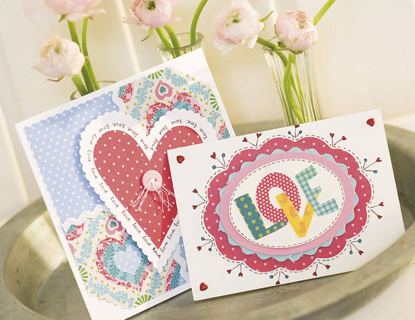 How To Make Homemade Valentine S Cards
