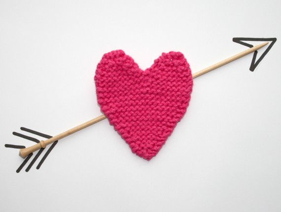 Knitted Socks Patterns Free : Knitting Pattern Heart - Womans Weekly