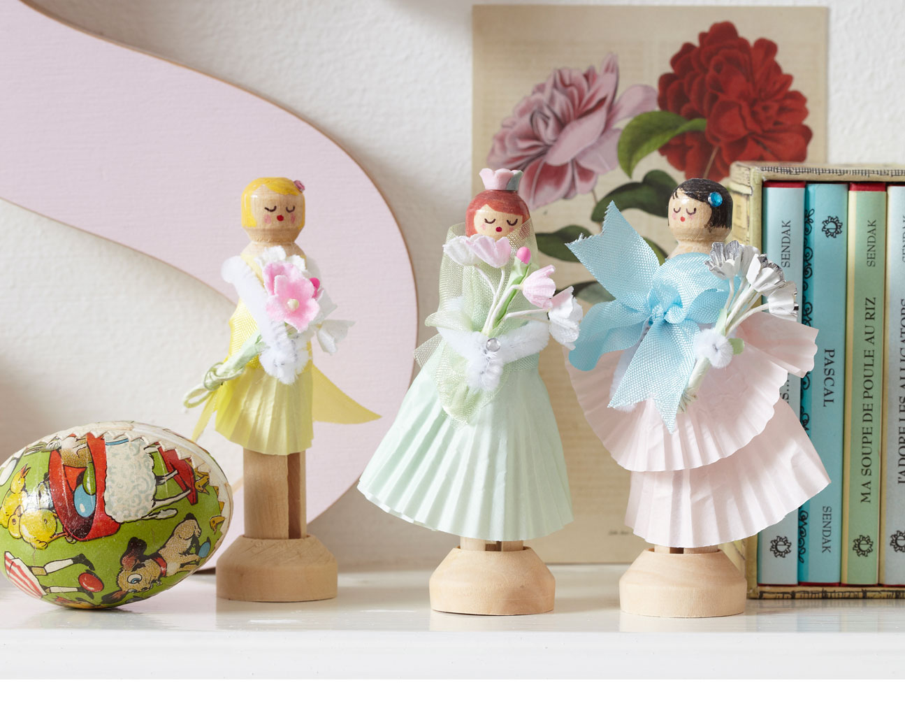 Let Elyse Major show you how to make peg dolls in this charming and ...