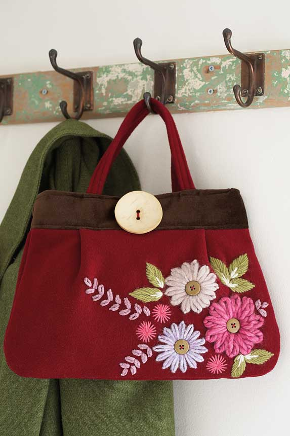 Embroidery how to: How to embroider a bag