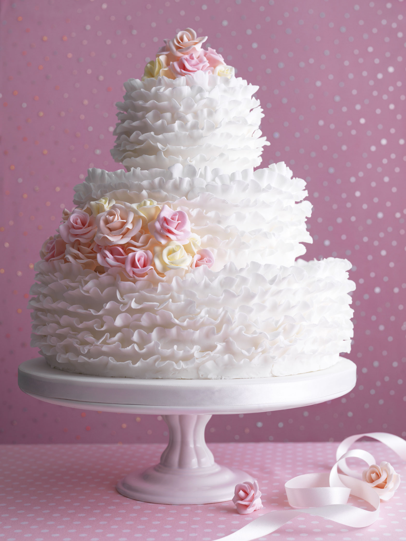 Beautiful Simple Wedding Cakes