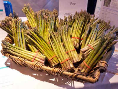 Cornish Asparagus at Penventon Park Hotel
